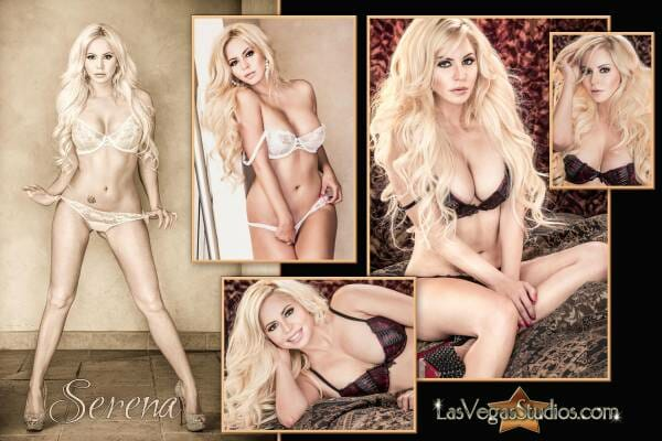Boudoir Photo Collage of the Beautiful Serena!