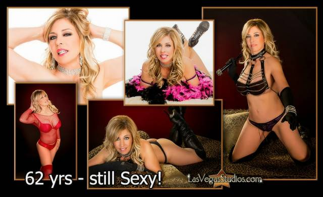 Composite of Mature Boudoir Photos of Trish