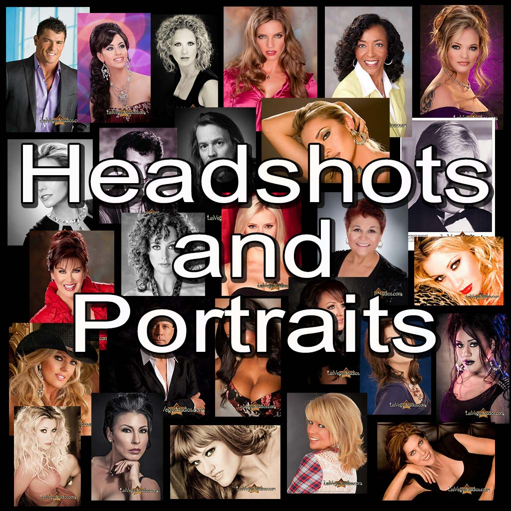 Headshots and Portraits from Las Vegas Studios