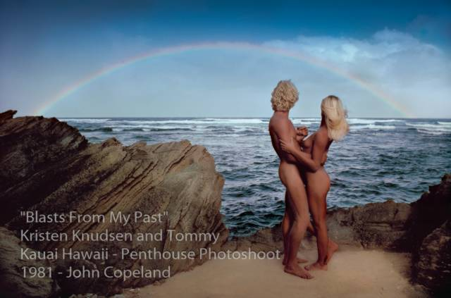 Kristen Knudsen and Tommy Penthouse magazine Love Set